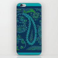 paisley iPhone & iPod Skins featuring  paisley  by Ariadne