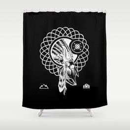 SPIRIT PATH Shower Curtain