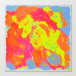 Happy colours Canvas Print