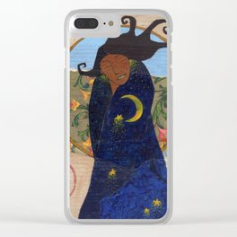Midnight Dance Clear iPhone Case