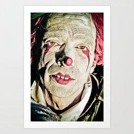 clown no.2 Art Print
