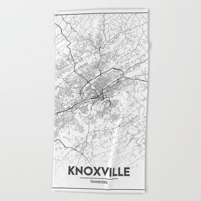Minimal City Maps - Map Of Knoxville, Tennessee, United States Beach on us map springfield, us map biloxi, us map tacoma, us map columbia, us map anchorage, us map lima, us map greensboro, us map macon, us map morgantown, us map new haven, us map bloomington, us map chesapeake, us map chattanooga, us map santa rosa, us map cape girardeau, us map pensacola, us map fort worth, us map salem, us map boise, us map hilton head,