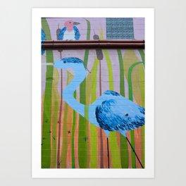 Concrete Oasis I Art Print