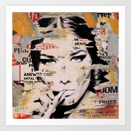 Carla Bruni is smoking hot Art Print