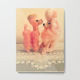 precious poodles Metal Print