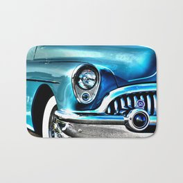 Blue Buick  Bath Mat