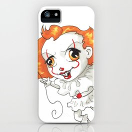 Pennywise Chibi iPhone Case