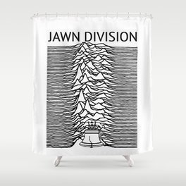 ∆ Jawn . Division ∆ Shower Curtain