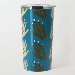 All blood is the same - blue Travel Mug