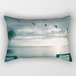 A Room With a View Rectangular Pillow