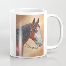 Trail Horse with Tassel on Bridle Coffee Mug