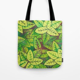 Spring leaves Tote Bag
