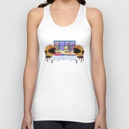 """""""You prepare a table before me in the presence of my enemies."""" Psalm 23:5 Unisex Tank Top"""