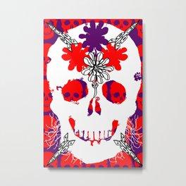 Skull Life Metal Print