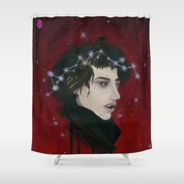 Celestial Crown Shower Curtain