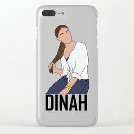Dinah Jane Clear iPhone Case
