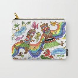 Hawaiian Tiki Play Date Carry-All Pouch