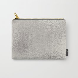 Simply Metallic in Silver Carry-All Pouch