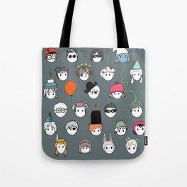 Part Kids (grey) Tote Bag