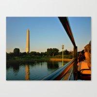 washington dc Canvas Prints featuring Washington, DC by KVK.