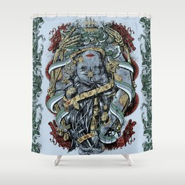 The Sailor & the Syren Shower Curtain