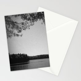 On the bank of Walden Pond Stationery Cards
