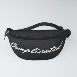 Complicated Noir Fanny Pack