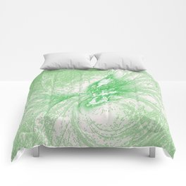 Splatter in Limeade  Comforters