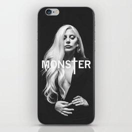 Lady Gaga's Portrait Monster iPhone Skin