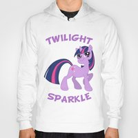 mlp Hoodies featuring MLP FiM: Twilight Sparkle by Yiji