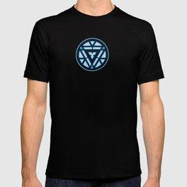 arc reactor iron man T-shirt