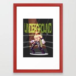 Sami Zayne - Underground Framed Art Print