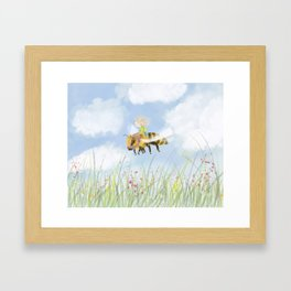 Just Buzzing About Framed Art Print