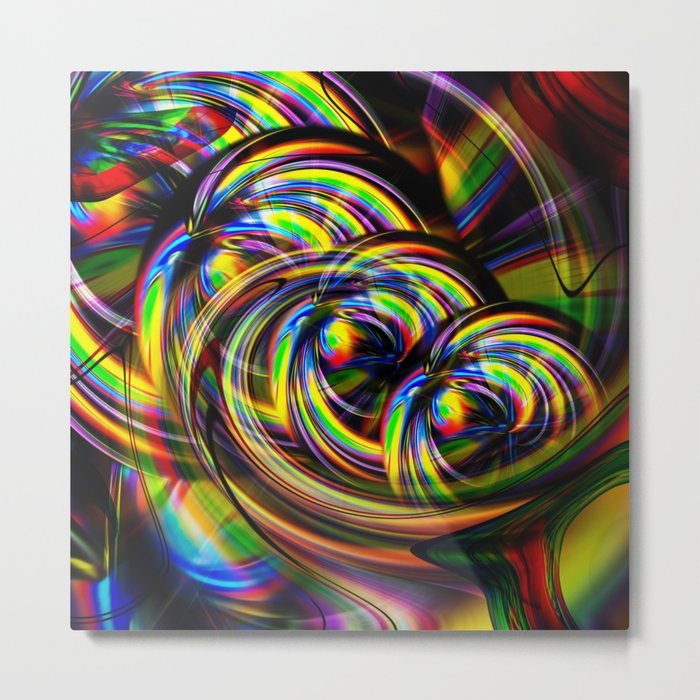 Abstract Perfection 53 Metal Print