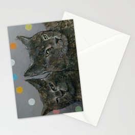 Grey Cats Stationery Cards
