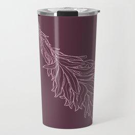 Burn sage, not our sisters (in pink) Travel Mug