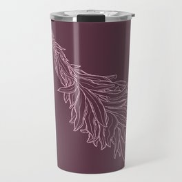 Burn sage, not our sisters (in pink) Travel Mug