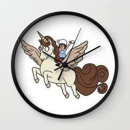 Espresso Yourself Tina Belcher Inspied Unicorn Wall Clock