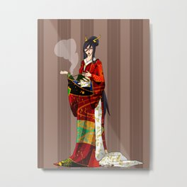 Mir of Magi Metal Print