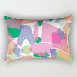 C O L L A G E of S H A P E Rectangular Pillow
