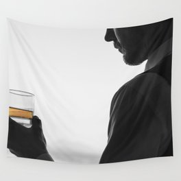 Gentleman with Scotch Wall Tapestry