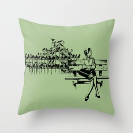 Risolty Rosolty Throw Pillow