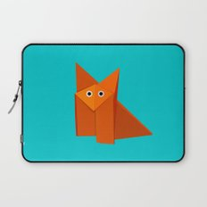 Cute Origami Fox Laptop Sleeve