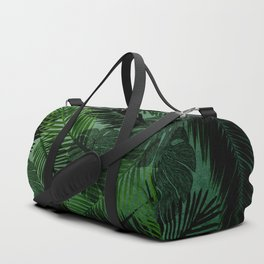 Green Foliage Duffle Bag