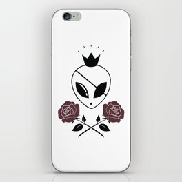 The Martian King of Pirates iPhone Skin