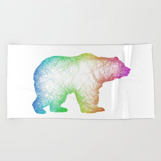 Bear Beach Towel