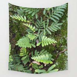 Moss and Fern Wall Tapestry