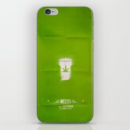 WEEDS iPhone Skin