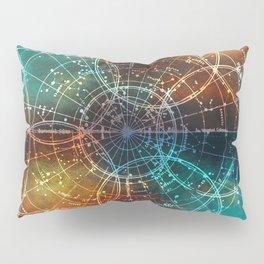Star Map Pillow Sham