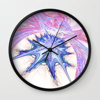 seashell Wall Clocks featuring seashell by haroulita